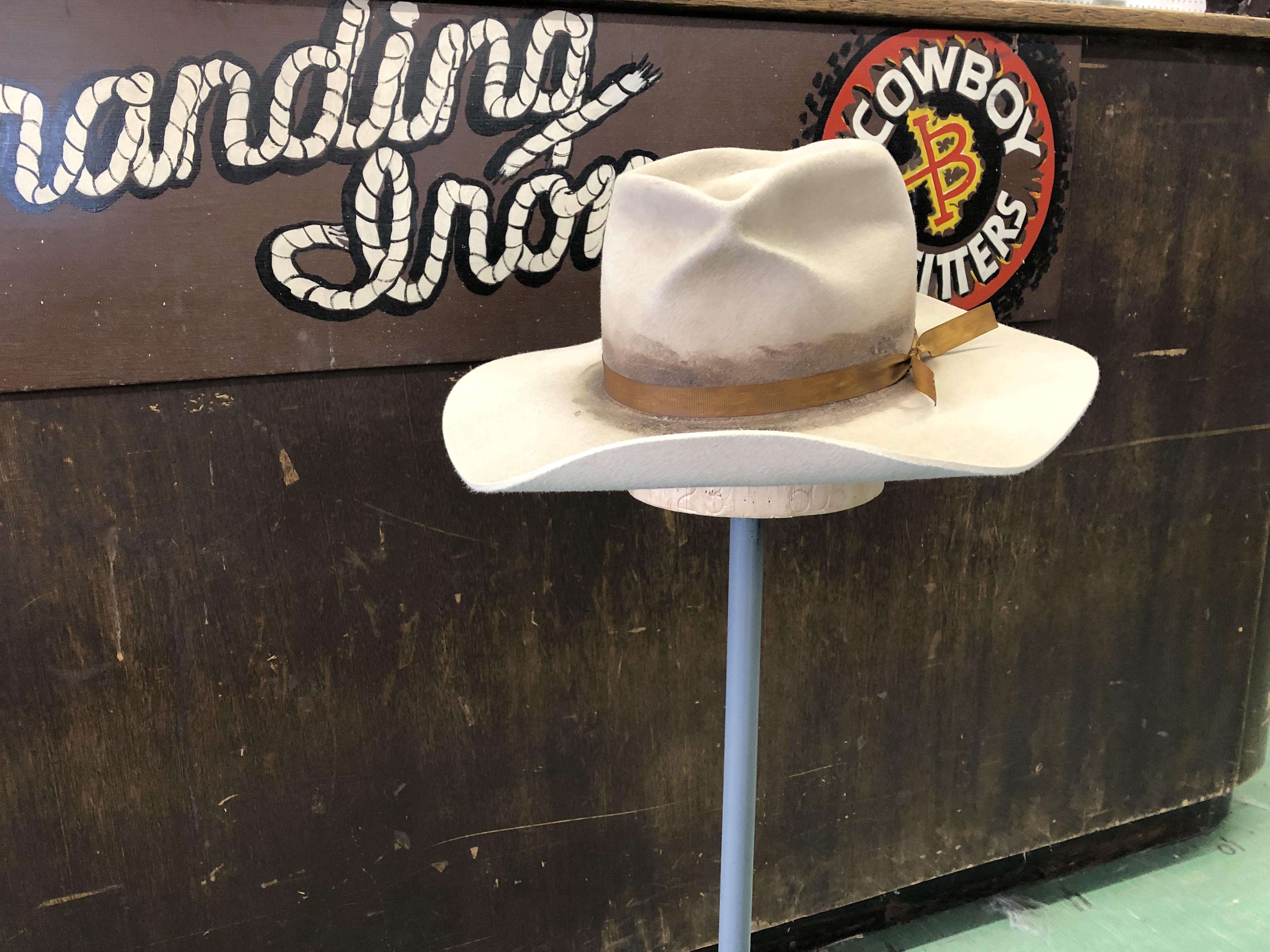 authentic cowboy hats - custom